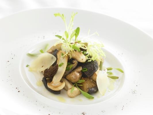 Blog Sparkling wineWarm mushroom salad