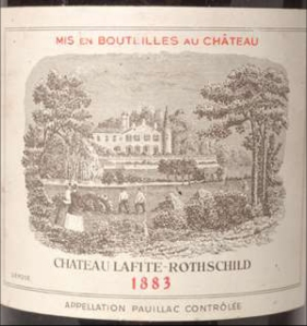 Chateau Lafite Rothschild 1883Chateau Lafite Rothschild 1883